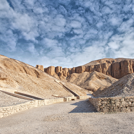 Image of the valley of the kings in Luxor, Egypt  Banco de Imagens