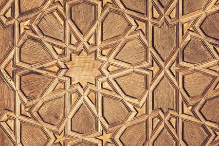 Image of traditional turkish pattern. photo