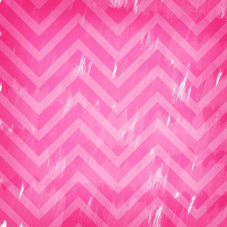 chevron background: Pink chevron background design, slightly worn.
