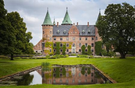 storybook: Image of the storybook castle of Trolleholm, Sweden.