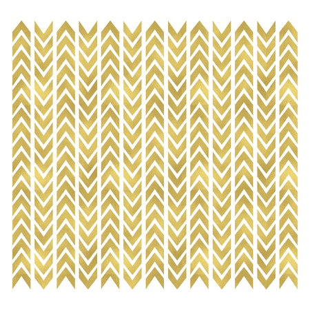 Image of a gold colored chevron pattern background.