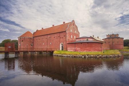 garrison: Image of Landskrona Citadel, old fort and prison in Landskrona, Sweden. Editorial