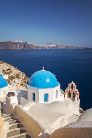 santorini island: Image of Santorini island, Greece.