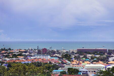 hua hin: Image of the coastal city of Hua Hin, Thailand.