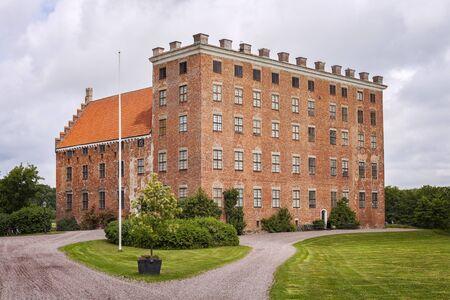 renaissance: Image of renaissance caste of Svaneholm, Sweden. Editorial