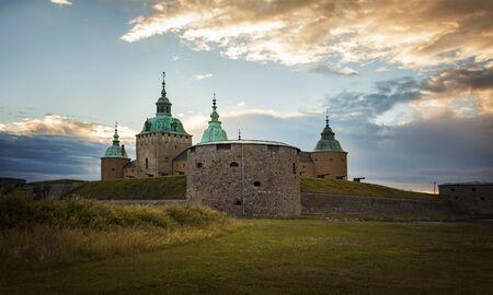 Image of the historic castle in Kalmar, Sweden. Stock Photo