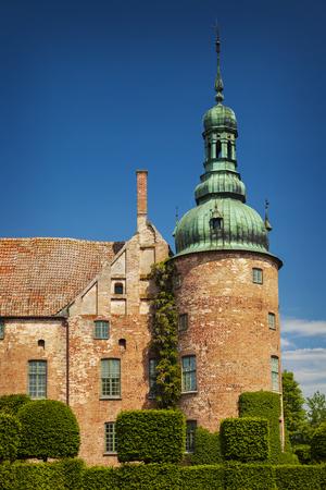 Historic castle of Vittskovle in south Sweden.