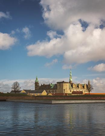 Kronborg castle in the city of Helsingor, Denmark.