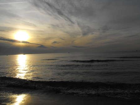 carnevale: Versilia sunset