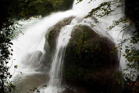 terni: An image of Marmore Falls in Terni, Umbria Italy. Stock Photo