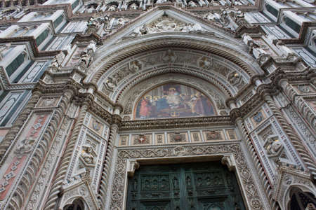 medici: The dome of Florence. Detail of Santa maria del fiore