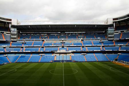 final: Santiago Bernabeu Stadium in madrid, Spain. Stadium of Final Champions league May 2010