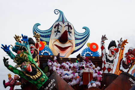 A float at the carnival of Viareggio Italy, 2010