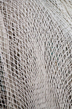 fishing industries: Close-up of a fishing net