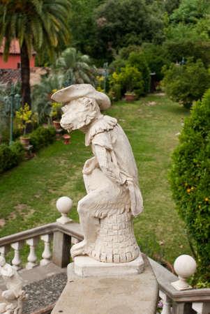 Statue in Garzoni garden, Italy  Stock Photo - 7231392