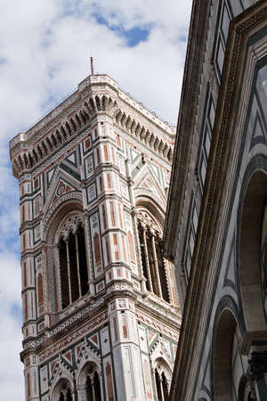 The dome of Florence. campanile of Giotto