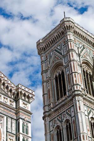 The dome of Florence. santa maria del fiore and campanile of Giotto