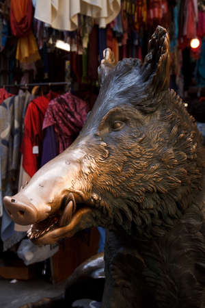 The Famous Boar in Florence in Italy