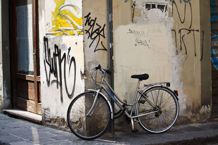 An image of old bike