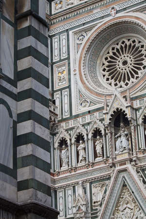 The dome of Florence. Detail of Santa maria del fiore