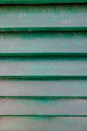 An image of green shutter. Picture Taken in Italy