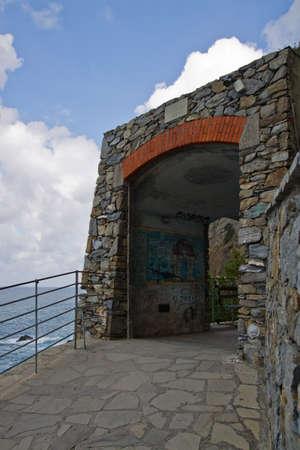 Via dell amore of Cinque Terre. Liguria Italy