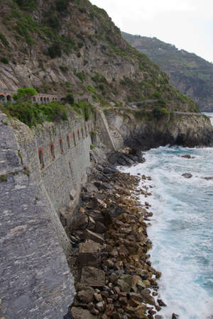 The Via Amore in Cinque Terre Italy