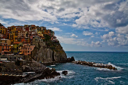 Seaside town of vernazza in cinque terre Italy  Stock Photo