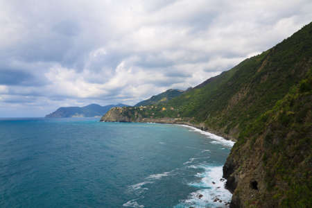 The national park Cinque Terre in Italy