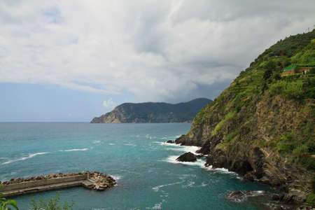 Water of the Mediterranean - Cinque Terre - Italy