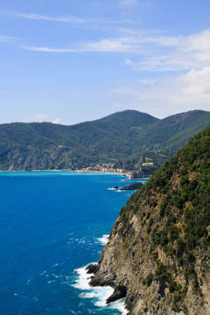 The national park Cinque Terre in Italy Stock Photo - 7986321