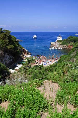 An image representative of the island Giannutri. Tuscany Italy  Stock Photo