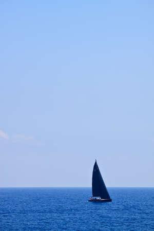 Photo taken in Mediterranean sea  Stock Photo