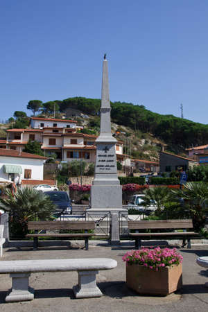 Monument in Giglio Island. Tuscany, Italy Stock Photo - 7824170