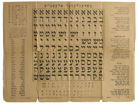 alphabet hebrew photo