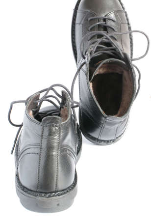 Black Leather Shoes photo