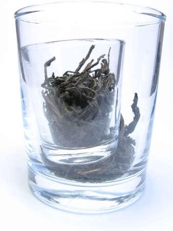 sapless: black tea in glass