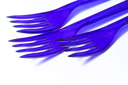 plastic forks photo