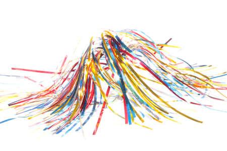 frippery: shiny ribbons Stock Photo