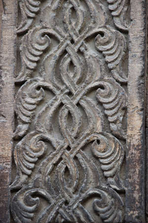 seljuk: seljuk architecture carving detail Stock Photo
