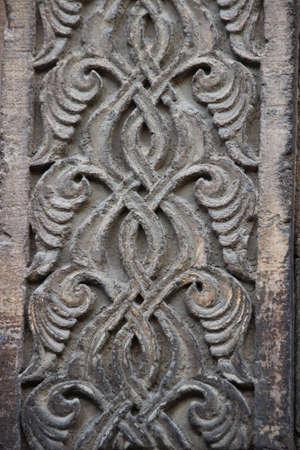 seljuk: seljuk architecture carving detail Stock Photo