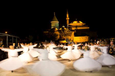 whirling: Mevlevi Monastery in Konya