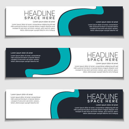 Design Modern Wavy, Wave, Curve Cyan Gradient Light Background for Web Banner, Label, Header, Publication Advertising.Vector Abstract EPS10