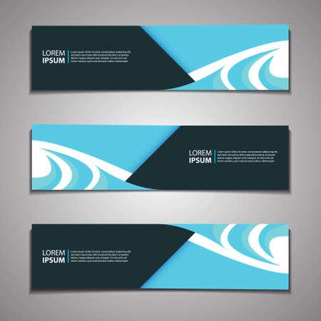 Label Banner Background Modern Business Corporate Template Design Web Ilustracje wektorowe