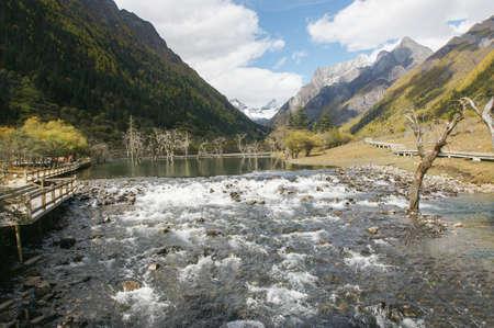 jokul: China Sichuan autumn scenery Stock Photo