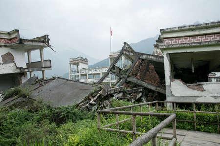 sichuan: China Sichuan earthquake site Editorial