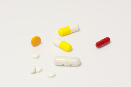 prescribed: Variety of medicines and drugs