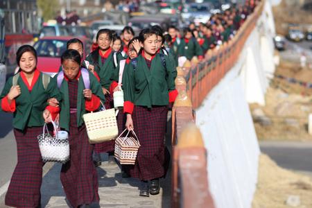 School children in Asia Éditoriale