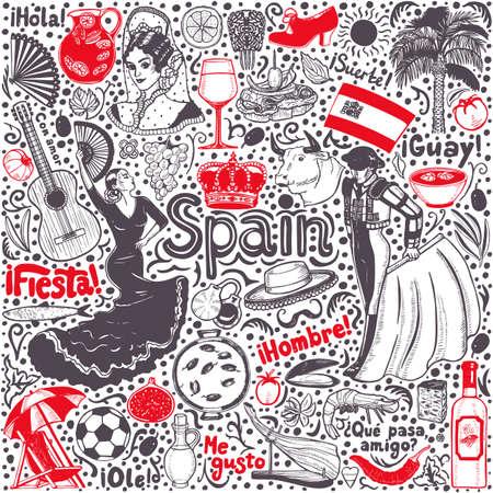 Spanish Matador Cartoon Clipart Vector Illustration Stock Vector -  Illustration of bull, cape: 76051519