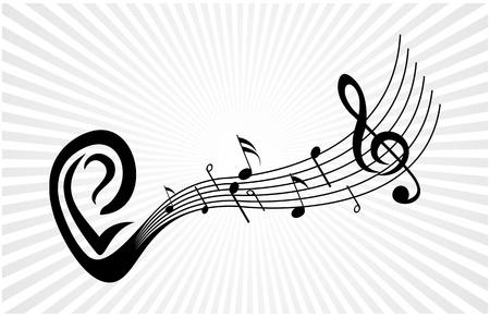 Lire la musique Vecteurs